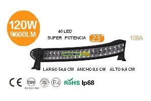 Venta repuesto FARO BARRA 40 LED 120W 9600LM 108A