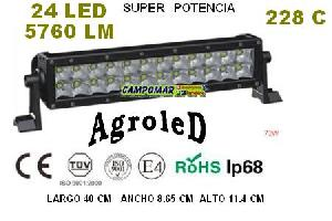 Venta repuesto Barra led AgroleD 5760 LM 72W 228C
